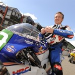 Freddie Spencer domenica alla Ber Racing di Modena