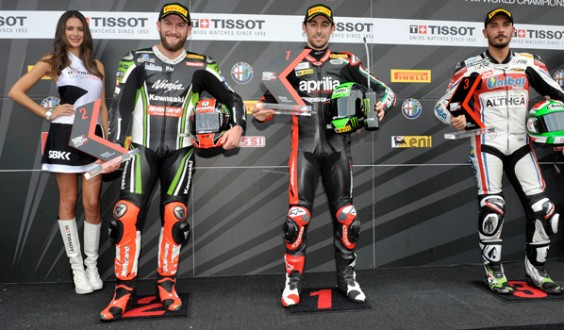World Superbike Jerez: Laverty in pole,lo seguono Sykes e uno splendido Giugliano