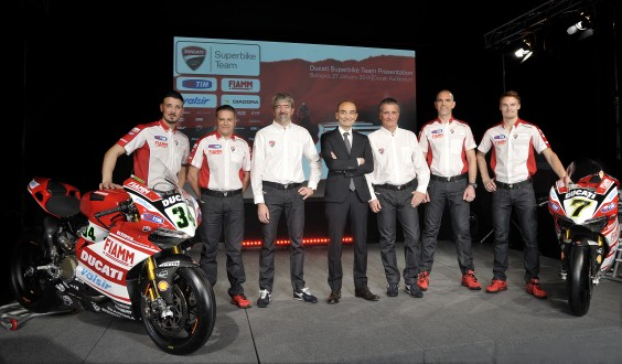 World Superbike: Presentato il Team Ducati Superbike