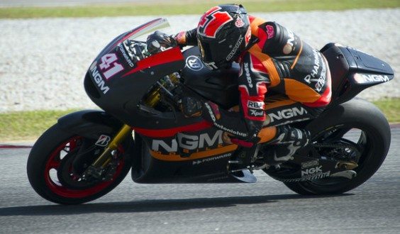 Test in Qatar: day1 ad Aleix Espargaro