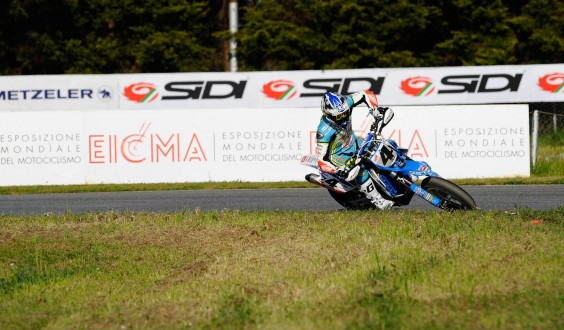 SuperMoto Series; a Pomposa domina Thomas Chareyre con la TM Factory team