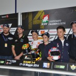 CIV Vallelunga; conferenza stampa Arai Helmet – Ber Racing Europe